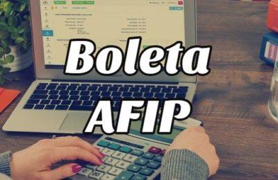 Cómo descargar la Boleta Electrónica AFIP