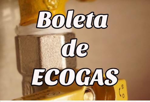 Boleta Ecogas