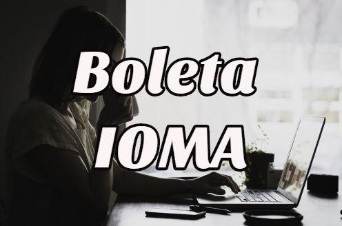 boleta Ioma