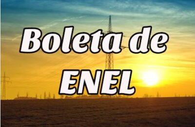 Boleta de Enel