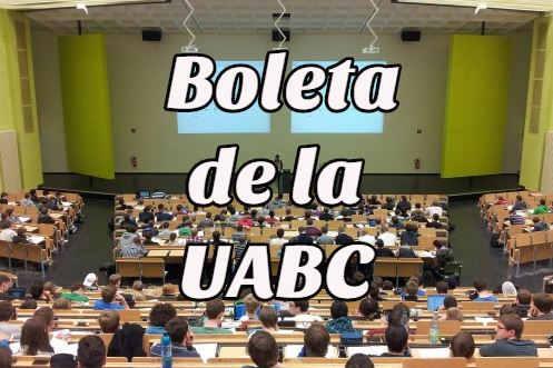 boleta UABC