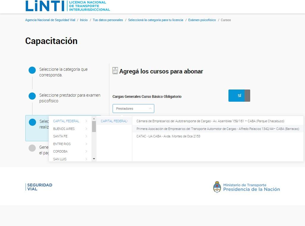 ▷ CNRT Curso de Cargas Generales ¡Guía definitiva! 2020