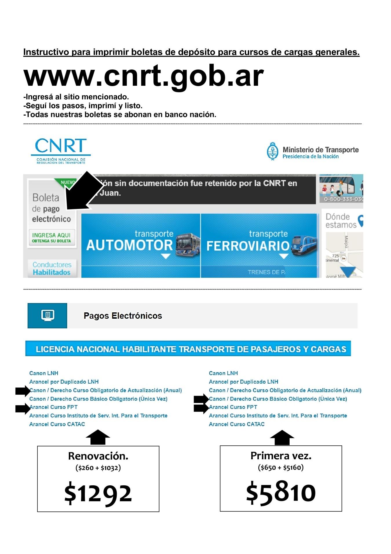 Información de interés para choferes | Noticias | Servicios | APROCAM