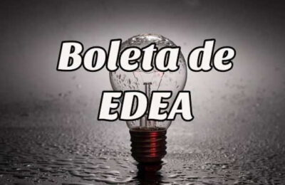 boleta de EDEA