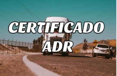 certificado adr
