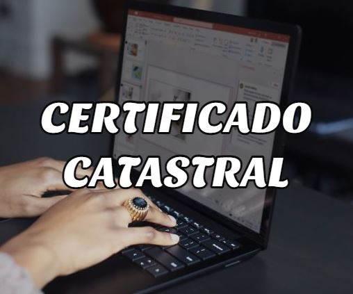 sacar certificado catastral