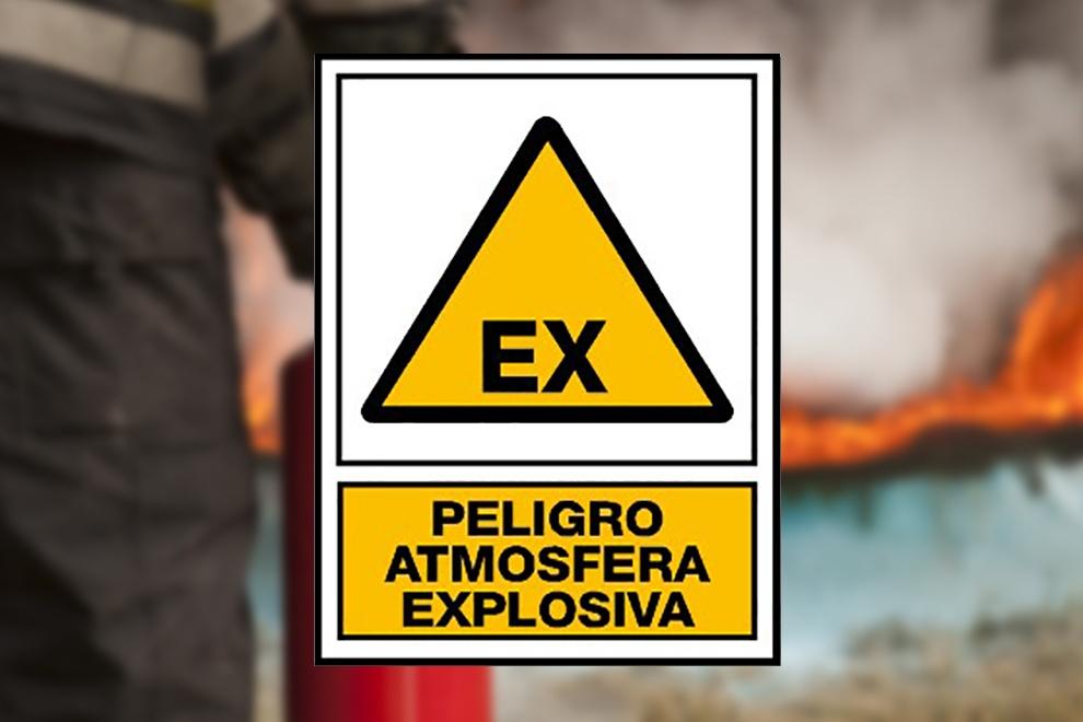 Señalización ATEX: cómo señalizar atmósferas explosivas.
