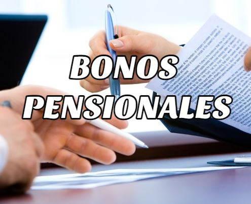 bonos pensionales